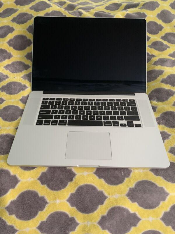 MacBook Pro (Retina, 15-inch Late 2013) 16GB, 2.6GHz Quad I7, For Parts / Repair