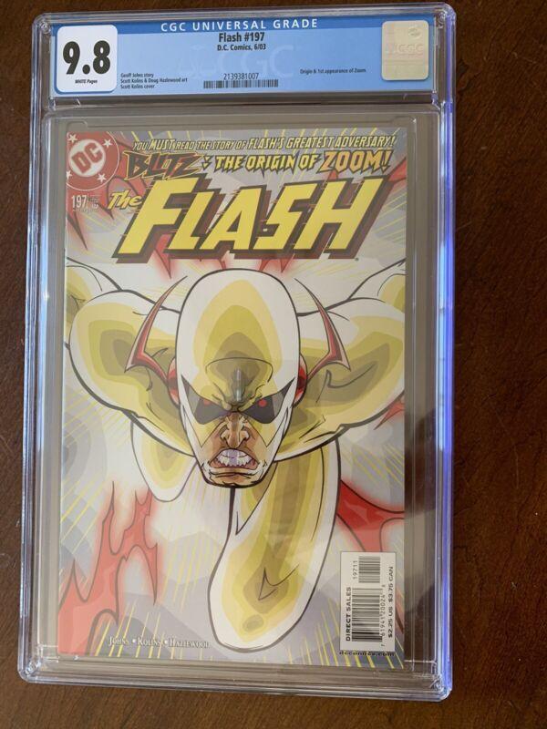 Flash 197 CGC 9.8
