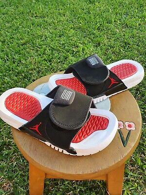 """Jordan Retro 11 Slides""""BRED"""" BRAND NEW 4Y, 5Y, 6Y, & 7Y"""