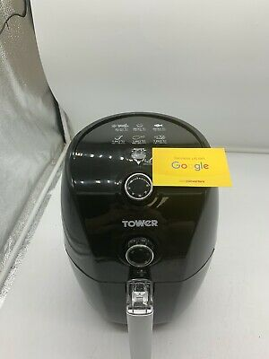 Tower T17025 1.5L Manual Air Fryer Fryer Air Fryer 900 Watt Black