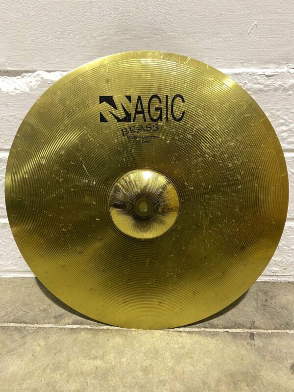 "Magic Brass 20"" Ride Cymbal Drum Accessory / Hardware"