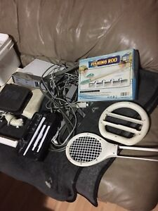 Original Wii Console with lots of games and accessories