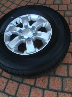 Ford ranger wheels and tyres 16inch Ryde Ryde Area Preview