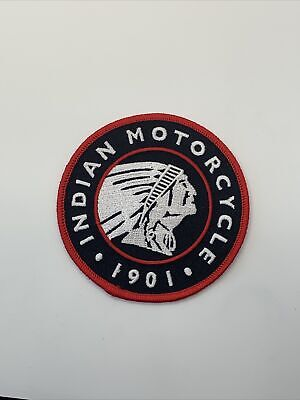 """Vintage Indian Patch 3.5"""" 1901 Indian Motorcycles"""