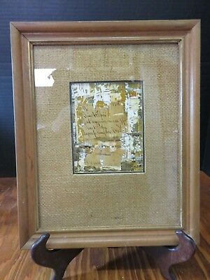 Vintage Framed & Matted Acrylic Prescription Collage