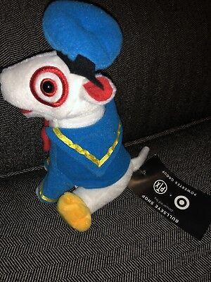 Bullseye Target Plush Bull Terrier Donald Duck Target Dog Disney Doggy Plush Toy