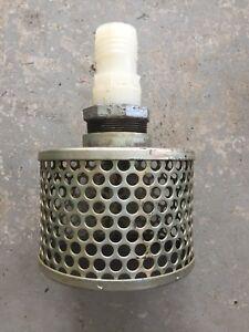 Water pump strainer