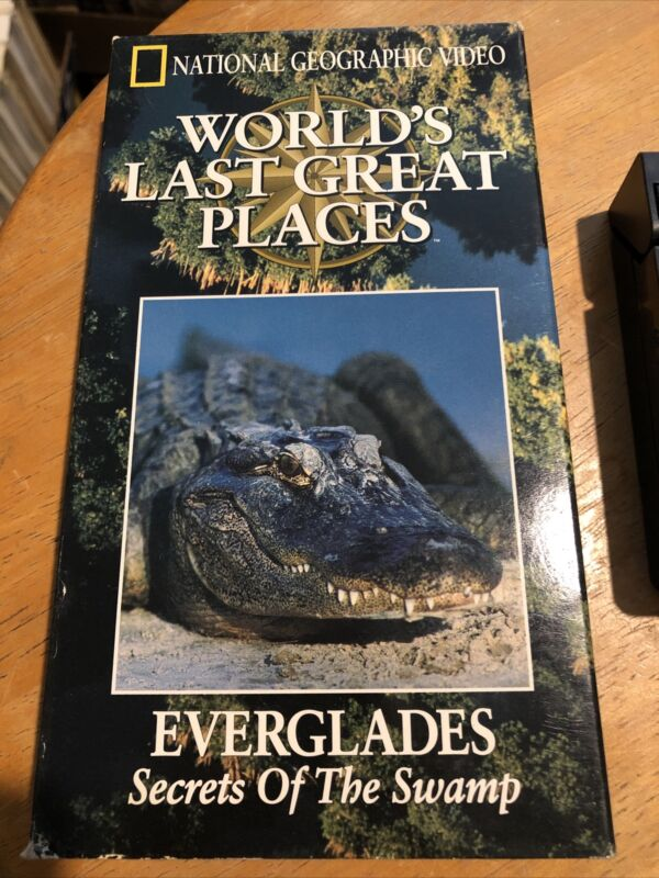 National Geographic Video - Everglades Secrets Of The Swamp VHS