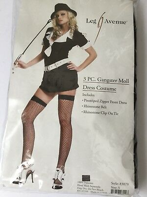 Leg Avenue Gangster Moll Dress Womens Costume - Gangster Moll Costumes