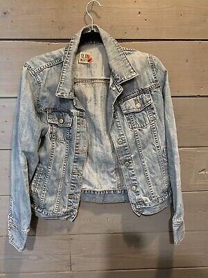 Womens Jean Jacket Large