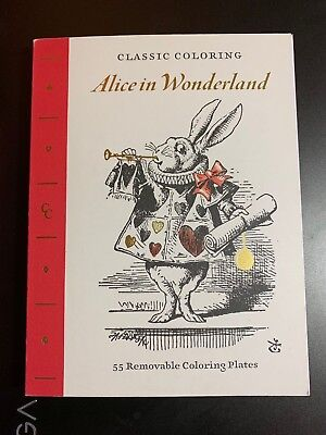 ALICE IN WONDERLAND CLASSIC COLORING BOOK FOR ADULTS NEW ART CREATIONS! - Alice In Wonderland For Adults