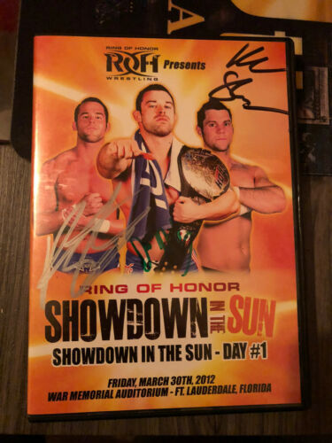 ROH Showdown In The Sun Day 1 2012 Ring Of Honor Auto Kevin Steen Autograph - $10.50