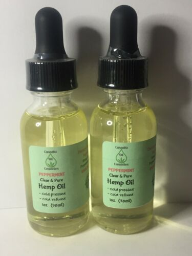 Peppermint Hemp Oil 3000mg *LOT OF 2*