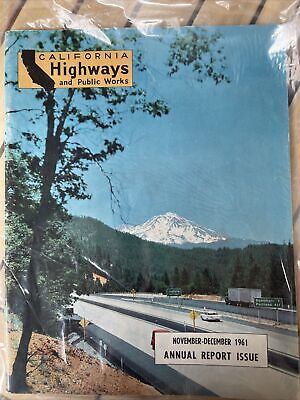 1961 Nov/Dec california highways and public works magazine