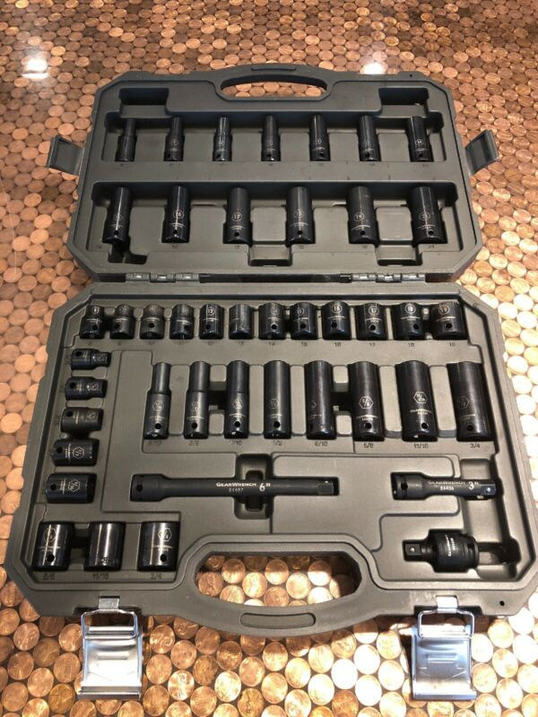 Gearwrench 44 Piece Socket Set With Case