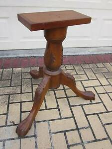 CARVED TABLE BASE/LEG, SOLID WOOD Greenslopes Brisbane South West Preview