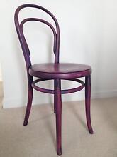 Original 1950s bedroom chair in purple Marrickville Marrickville Area Preview