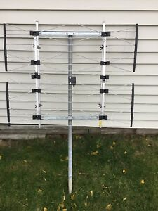 HD antenna with 10 hubs