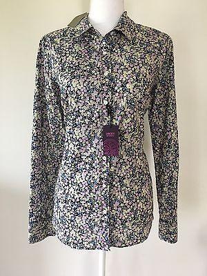 J Crew Liberty Art Fabrics Womens 12 Wiltshire Floral Blouse Shirt NWT $150!