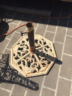 French wrought iron umbrella stand