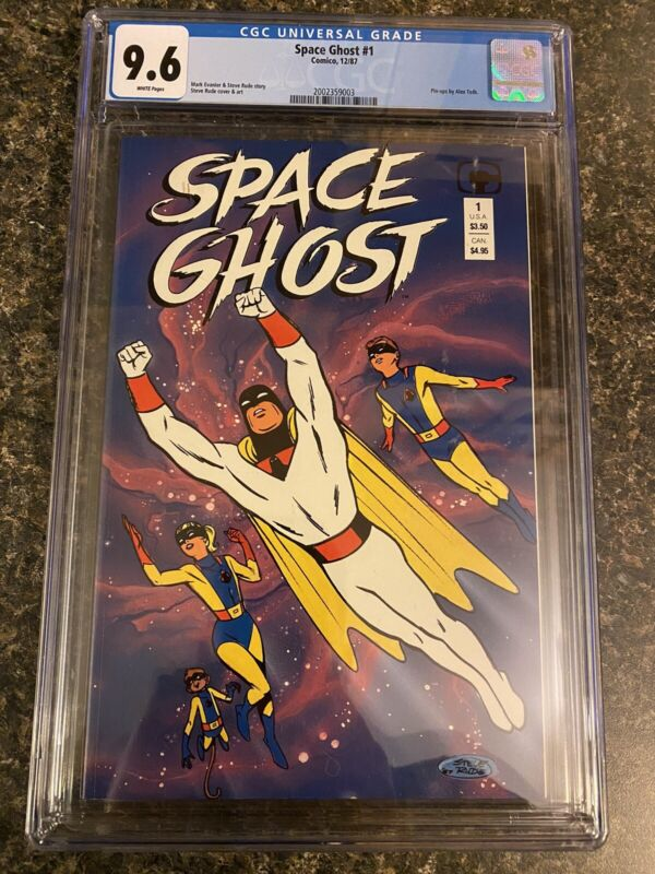 Space Ghost 1 CGC 9.6 WP