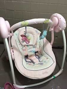 Baby Swing, compact, folding, like new