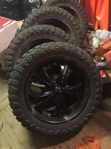 35inch tires on 22's