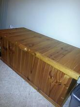 Solid pine blanket box Pagewood Botany Bay Area Preview