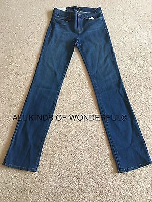 J Brand 814 Straight Cut Jeans in Clarity ( Mid Blue) RRP£220!! BNWT