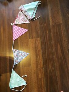 Fabric Bunting - approx 5m Caringbah Sutherland Area Preview