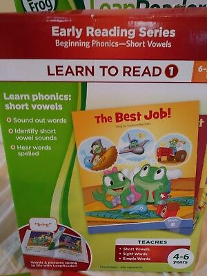 - Leap Frog Learn To Read 1 Early Reading Series Beginning Phonics Short Vowels