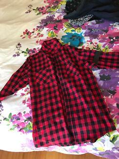 Mr. Simple Large Flannel Shirt