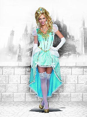 Sexy Dreamgirl Adult Women's Halloween Having a Ball Cinderella Costume