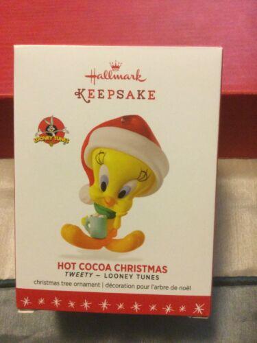 2016 Hallmark Looney Tunes Tweety Hot Cocoa CHristmas MIB