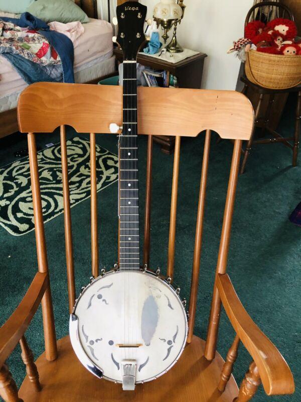Vintage Vega 5-String Banjo w/ Original Case - Serial #1