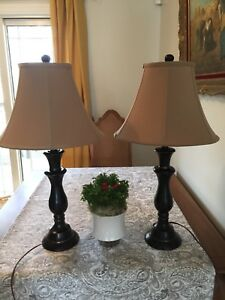 SOLD - Accent lamps - set of 2