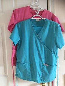 2 pair of matching scrubs (extra small) $15