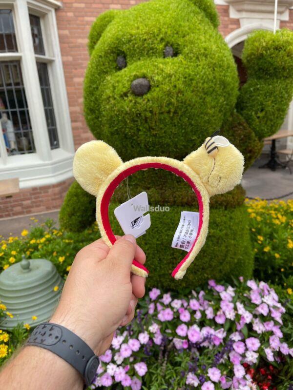 2021 Disney Park Winnie the Pooh Classic Ear Headband