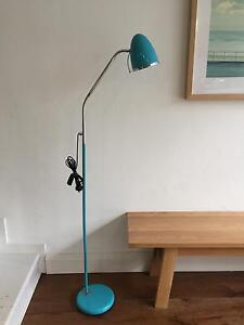 Turquoise floor lamp from Aero Designs Bondi Beach Eastern Suburbs Preview