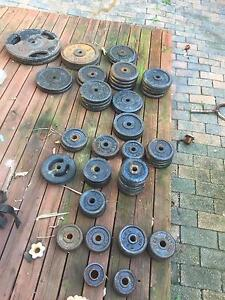 250kg of weights Beacon Hill Manly Area Preview