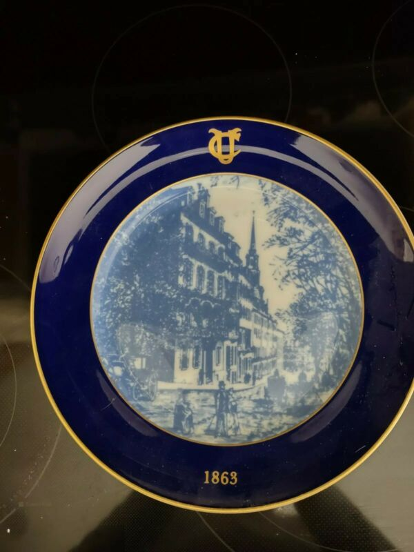 Union Club of Boston Commerative Plate Celebrating Shreve Crump & Low