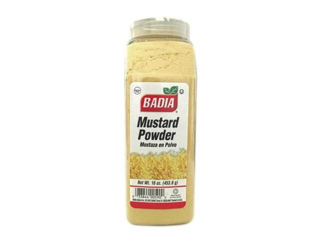 16 oz Bottle Badia Mustard/Dry/Powder/Ground/Mostaza/Molida/en/Polvo/Kosher