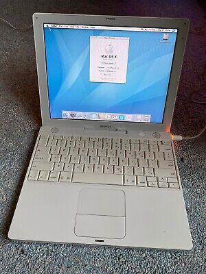 "Apple iBook 12.1"" Laptop G4 - M9623LL/A (October, 2004)"