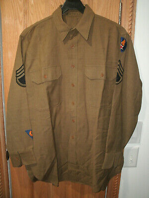 WWII World War 2 US Army Air Force Uniform Shirts Pants and Tie