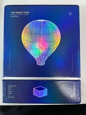 BTS 2017 The Wings Tour In Seoul DVD Live Trilogy Episode III Set J Hope PC