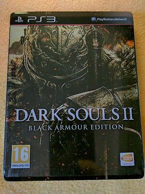 Dark Souls 2 Black Armour Edition - Sony PS3 Playstation 3 - BE steelbook VF FR segunda mano  Embacar hacia Spain