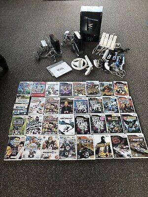 Two wii console bundles with 33 games