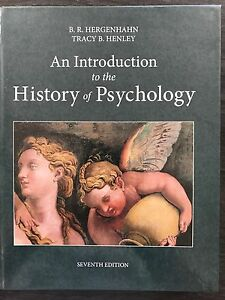 An introduction to the History of Psychology 7th ed. Eden Hill Bassendean Area Preview
