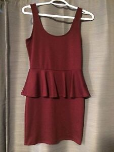 Mahogany Peplum dress