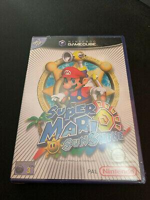 Super Mario Sunshine Gamecube Game Cube PAL ESPAÑOL NUEVO PRECINTADO A ESTRENAR